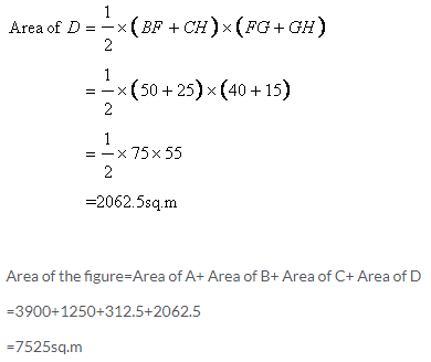 Selina Concise Mathematics Class 9 ICSE Solutions Area and Perimeter of Plane Figures image - 46