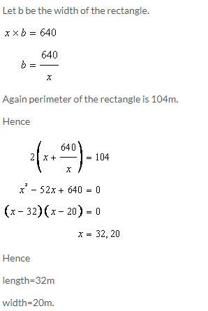 Selina Concise Mathematics Class 9 ICSE Solutions Area and Perimeter of Plane Figures image - 54