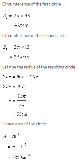 Selina Concise Mathematics Class 9 ICSE Solutions Area and Perimeter of Plane Figures image - 66