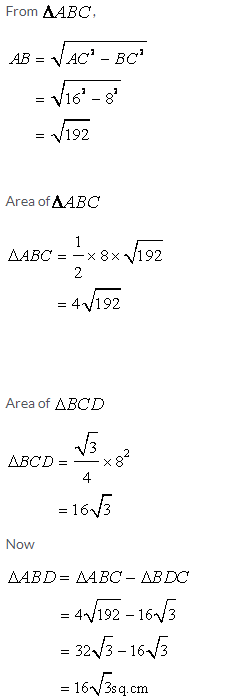 Selina Concise Mathematics Class 9 ICSE Solutions Area and Perimeter of Plane Figures image - 7