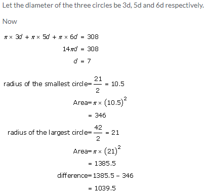 Selina Concise Mathematics Class 9 ICSE Solutions Area and Perimeter of Plane Figures image - 72