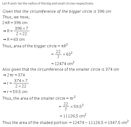 Selina Concise Mathematics Class 9 ICSE Solutions Area and Perimeter of Plane Figures image - 80