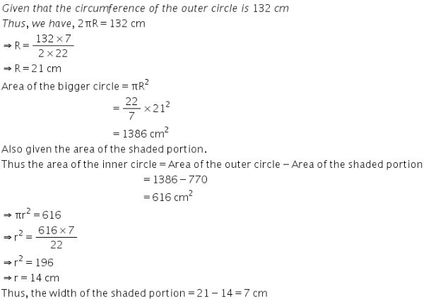 Selina Concise Mathematics Class 9 ICSE Solutions Area and Perimeter of Plane Figures image - 81
