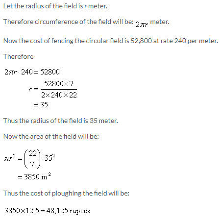 Selina Concise Mathematics Class 9 ICSE Solutions Area and Perimeter of Plane Figures image - 82