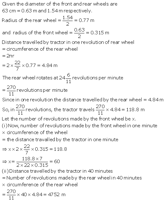 Selina Concise Mathematics Class 9 ICSE Solutions Area and Perimeter of Plane Figures image - 87