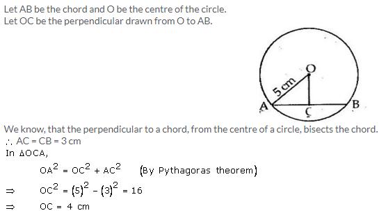 Selina Concise Mathematics Class 9 ICSE Solutions Circle image - 1