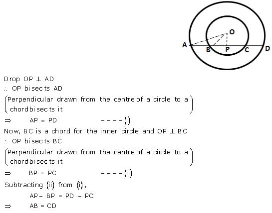 Selina Concise Mathematics Class 9 ICSE Solutions Circle image - 11