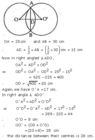 Selina Concise Mathematics Class 9 ICSE Solutions Circle image - 17