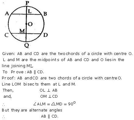 Selina Concise Mathematics Class 9 ICSE Solutions Circle image - 18