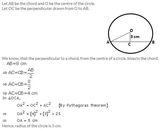 Selina Concise Mathematics Class 9 ICSE Solutions Circle image - 2