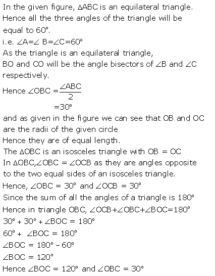 Selina Concise Mathematics Class 9 ICSE Solutions Circle image - 21