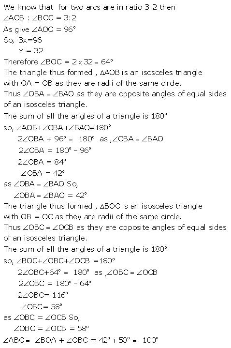 Selina Concise Mathematics Class 9 ICSE Solutions Circle image - 27