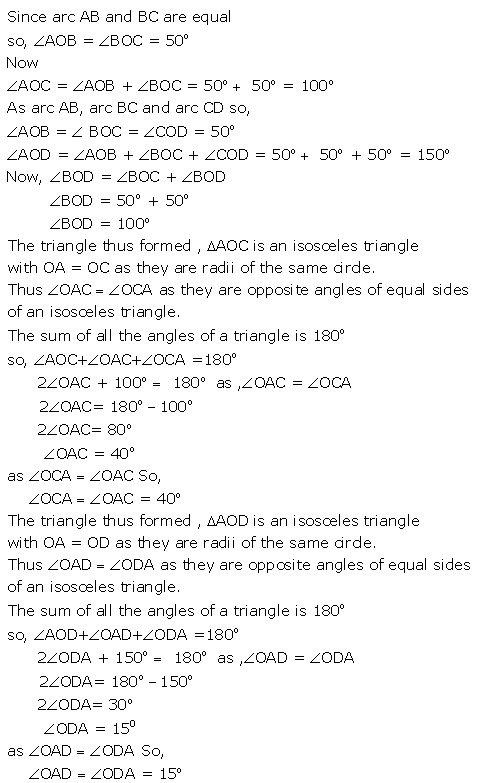 Selina Concise Mathematics Class 9 ICSE Solutions Circle image - 28