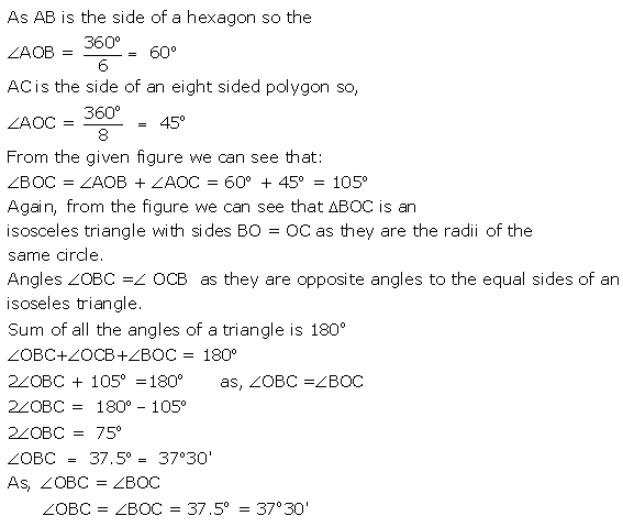 Selina Concise Mathematics Class 9 ICSE Solutions Circle image - 29