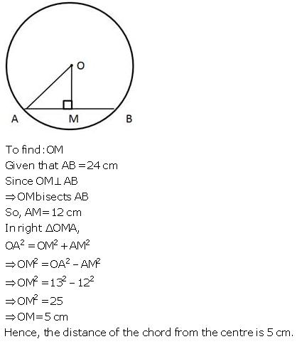 Selina Concise Mathematics Class 9 ICSE Solutions Circle image - 31