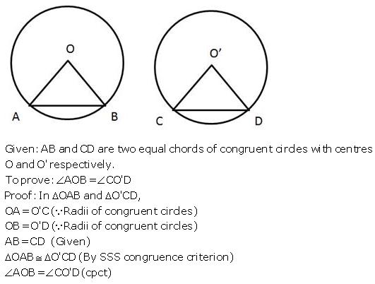 Selina Concise Mathematics Class 9 ICSE Solutions Circle image - 32