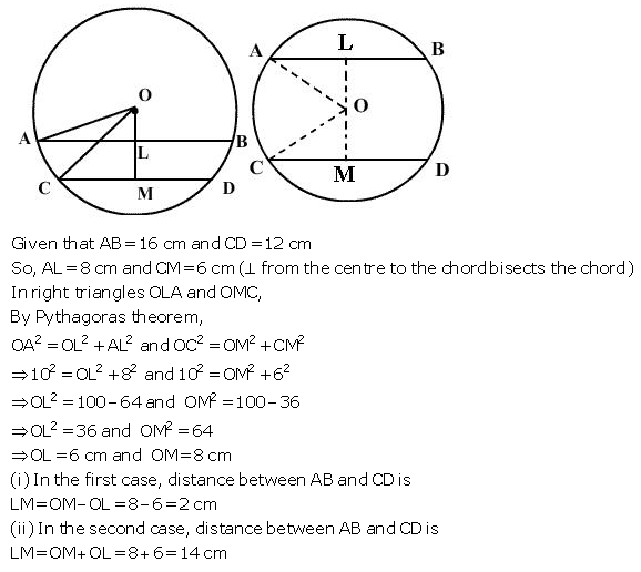 Selina Concise Mathematics Class 9 ICSE Solutions Circle image - 36