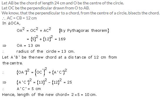 Selina Concise Mathematics Class 9 ICSE Solutions Circle image - 4