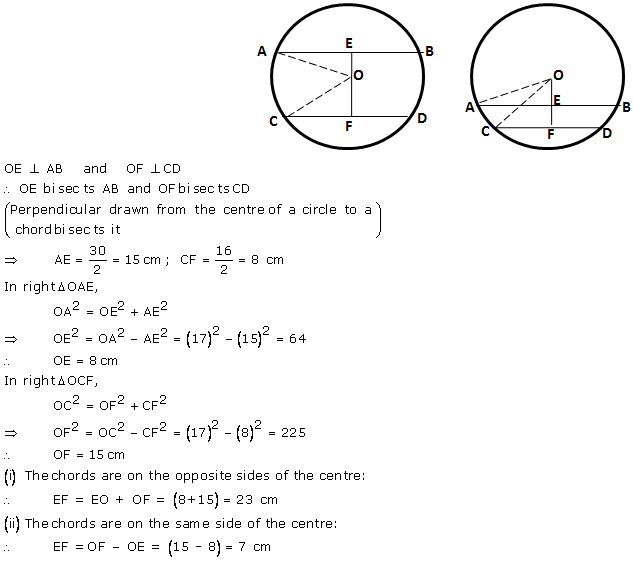 Selina Concise Mathematics Class 9 ICSE Solutions Circle image - 6