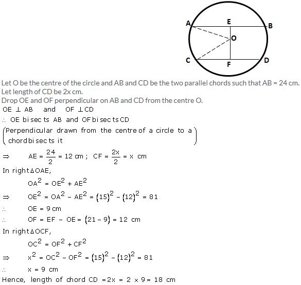 Selina Concise Mathematics Class 9 ICSE Solutions Circle image - 7