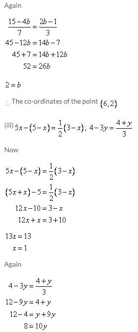 Selina Concise Mathematics Class 9 ICSE Solutions Co-ordinate Geometry image - 7