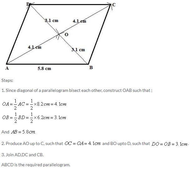 Selina Concise Mathematics Class 9 ICSE Solutions Construction of Polygons image - 10