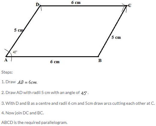 Selina Concise Mathematics Class 9 ICSE Solutions Construction of Polygons image - 11