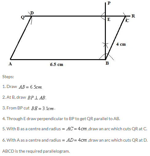 Selina Concise Mathematics Class 9 ICSE Solutions Construction of Polygons image - 12