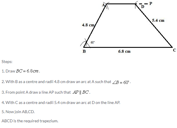 Selina Concise Mathematics Class 9 ICSE Solutions Construction of Polygons image - 21