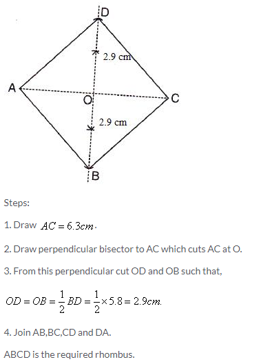 Selina Concise Mathematics Class 9 ICSE Solutions Construction of Polygons image - 25