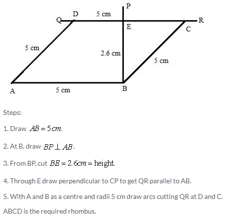 Selina Concise Mathematics Class 9 ICSE Solutions Construction of Polygons image - 26