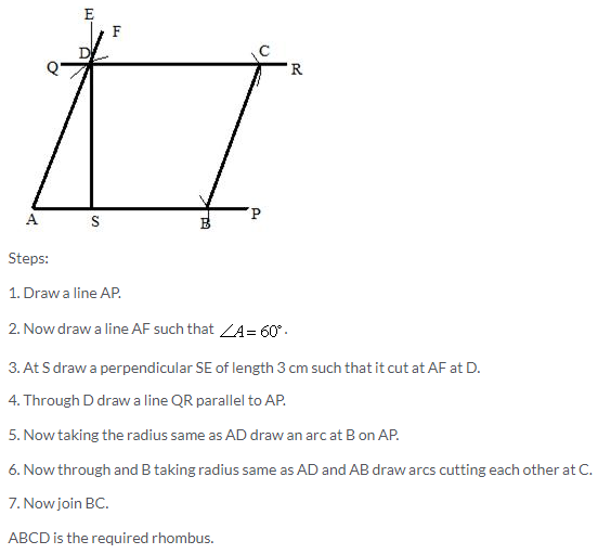Selina Concise Mathematics Class 9 ICSE Solutions Construction of Polygons image - 27