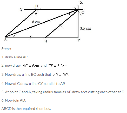 Selina Concise Mathematics Class 9 ICSE Solutions Construction of Polygons image - 28