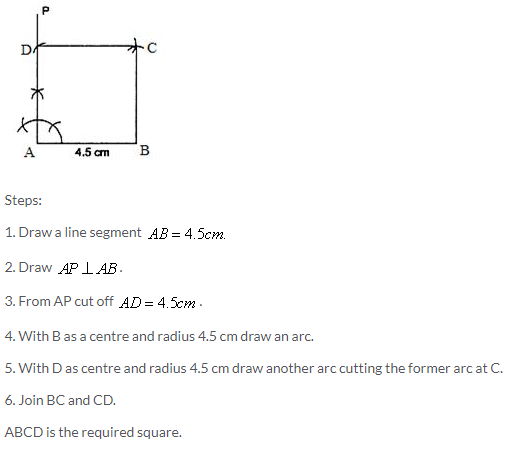 Selina Concise Mathematics Class 9 ICSE Solutions Construction of Polygons image - 29