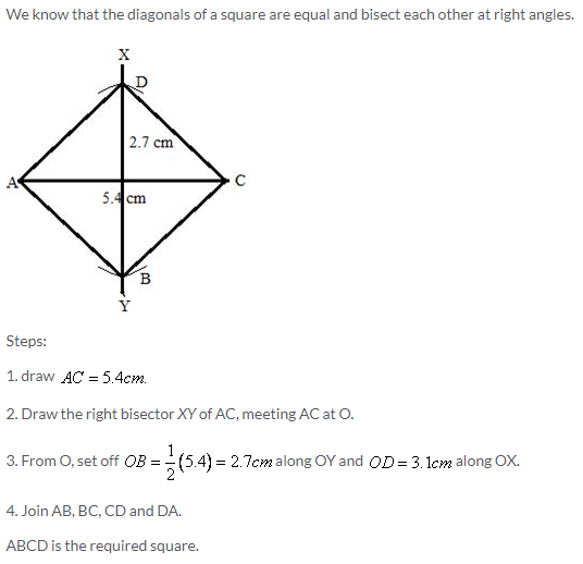 Selina Concise Mathematics Class 9 ICSE Solutions Construction of Polygons image - 30
