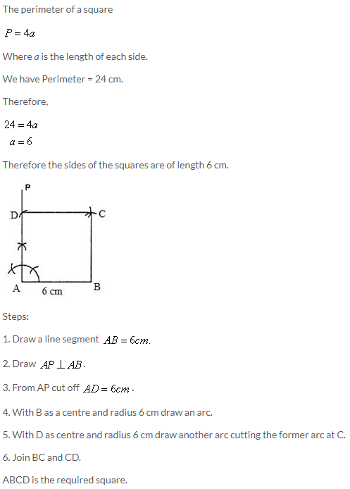 Selina Concise Mathematics Class 9 ICSE Solutions Construction of Polygons image - 31