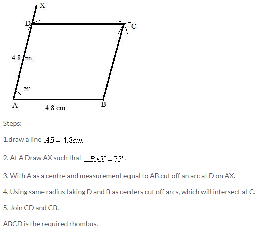 Selina Concise Mathematics Class 9 ICSE Solutions Construction of Polygons image - 32
