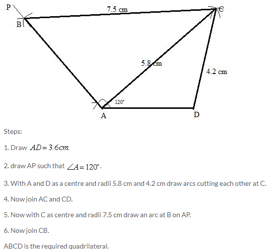 Selina Concise Mathematics Class 9 ICSE Solutions Construction of Polygons image - 5