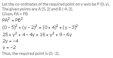 Selina Concise Mathematics Class 9 ICSE Solutions Distance Formula image - 10