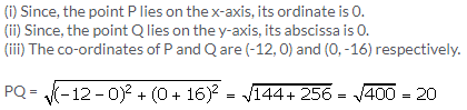 Selina Concise Mathematics Class 9 ICSE Solutions Distance Formula image - 11