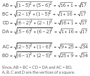 Selina Concise Mathematics Class 9 ICSE Solutions Distance Formula image - 15