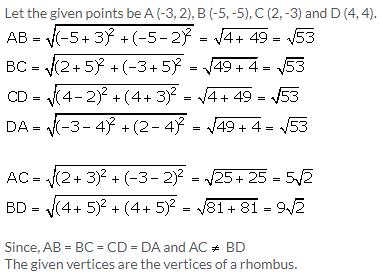 Selina Concise Mathematics Class 9 ICSE Solutions Distance Formula image - 16