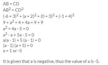 Selina Concise Mathematics Class 9 ICSE Solutions Distance Formula image - 17