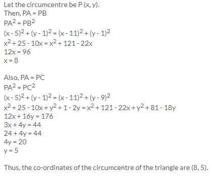 Selina Concise Mathematics Class 9 ICSE Solutions Distance Formula image - 18