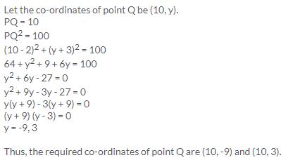 Selina Concise Mathematics Class 9 ICSE Solutions Distance Formula image - 22