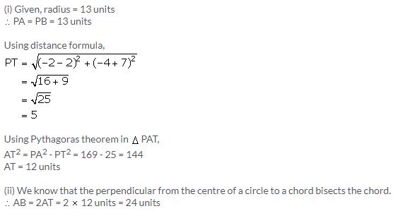 Selina Concise Mathematics Class 9 ICSE Solutions Distance Formula image - 23