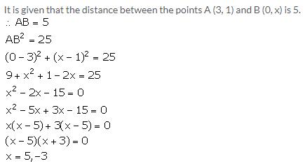 Selina Concise Mathematics Class 9 ICSE Solutions Distance Formula image - 4