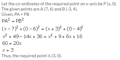 Selina Concise Mathematics Class 9 ICSE Solutions Distance Formula image - 9