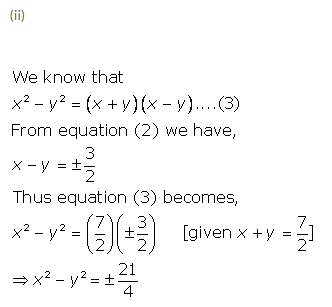 Selina Concise Mathematics Class 9 ICSE Solutions Expansions (Including Substitution) 10