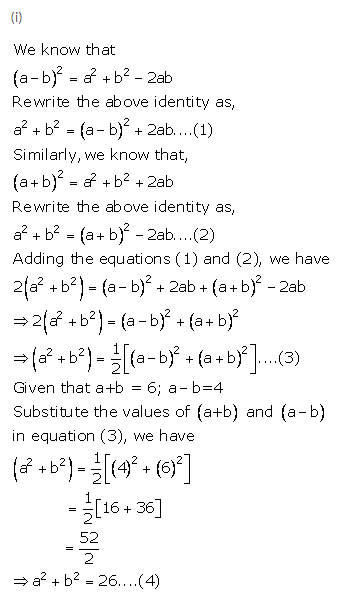 Selina Concise Mathematics Class 9 ICSE Solutions Expansions (Including Substitution) 12